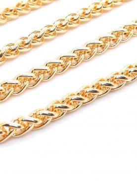 Angelus lufigo  Model Kalın Zincir Kolye Altın Kaplama
